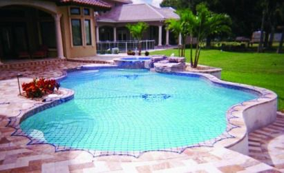 A Pool Safety Net makes your pool safe for Children.